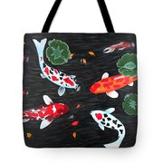 Friendship Underwater Big Commissioned Painting Tote Bag