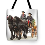 Friesian Carriage Tote Bag