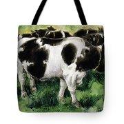 Friesian Cows Tote Bag