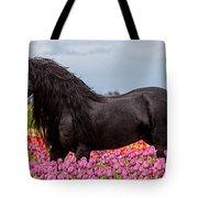 Friesian Fleur Tote Bag