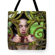 Frightened  Tote Bag by Semmick Photo
