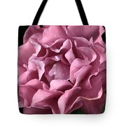 Frilly Rose Tote Bag