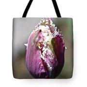 Fringe Blossom Tote Bag