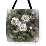 Fringed Daisy Tote Bag