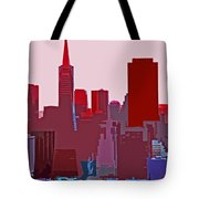 Frisco Skyline Tote Bag