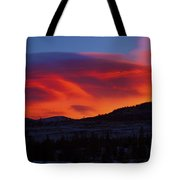 Frisco Sunrise Tote Bag