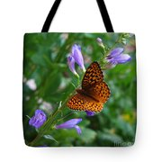 Fritillary Butterfly Tote Bag