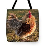 Frizzle Rooster Tote Bag