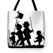 Fr�lich Playing Children Tote Bag
