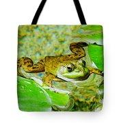 Frog  Abby Aldrich Rockefeller Garden Tote Bag