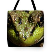 Frog Face Tote Bag