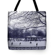 Frog Pond Skating Tote Bag