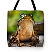 Frog Prince Or So He Thinks Tote Bag