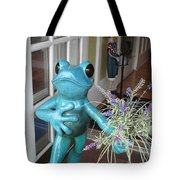 Frog Suitor Tote Bag