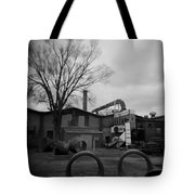 Frog Switch Yard Tote Bag