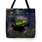 Froggy Smile Tote Bag