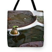 Froggy Throne Tote Bag