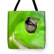 Frog's Eye Tote Bag by Kaye Menner