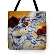 Frolic Tote Bag by Vickie Warner