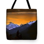 From A Distance Tote Bag