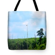 From A Dragonfly's Point Of View Tote Bag
