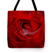 From A Kiss Of Rain Tote Bag
