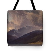 From Balestrand At The Sognefjord Tote Bag