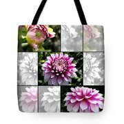 From Bud To Bloom - Dahlia Named Brian Ray Tote Bag