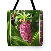 From Bud To Bloom - Eucomis Named Leia Tote Bag