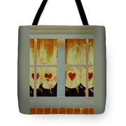 From French Riviera Window With Love Tote Bag