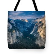 From Glacier Point Tote Bag