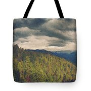 From Moro Rock Of The Sequoias Tote Bag