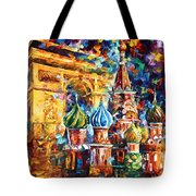 From Moscow To Paris Tote Bag