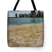 From North Avenue Beach Tote Bag