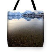 From Pebbles To Mountains Tote Bag
