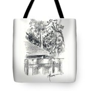 From The Breakfast Room Window Tote Bag