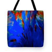 From The Deep Blue Tote Bag
