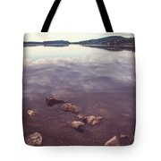 From The Depth Of Silence. Ladoga Lake  Tote Bag