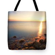 From The Rocks Sunset  Tote Bag by Eyzen M Kim