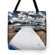 From The Wing Tote Bag