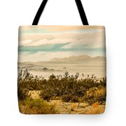 From Top Of The Mountain At Joshua Tree National Park Tote Bag