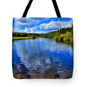 From Under The Green Bridge Tote Bag by David Patterson