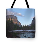 From Valley View At Sunset Tote Bag