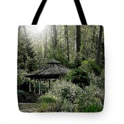 From Whence The Light Came Tote Bag