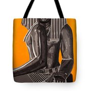 Front And Side Egyptian Pharoah Tote Bag