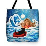 Front Cover Tote Bag
