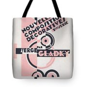 Front Cover Of Nouvelles Compositions Decoratives Tote Bag by Serge Gladky