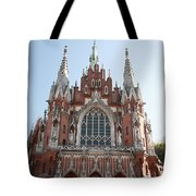 Front Entrance To St Joseph Church Krakow Tote Bag