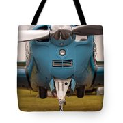 Front Of An Airplane Propeller Tote Bag