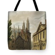 Front Of Trinity Hall, Cambridge Tote Bag